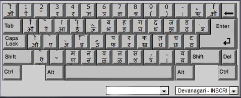 Hindi Font Layout sample