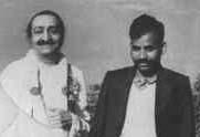 Sullu with Meher Baba
