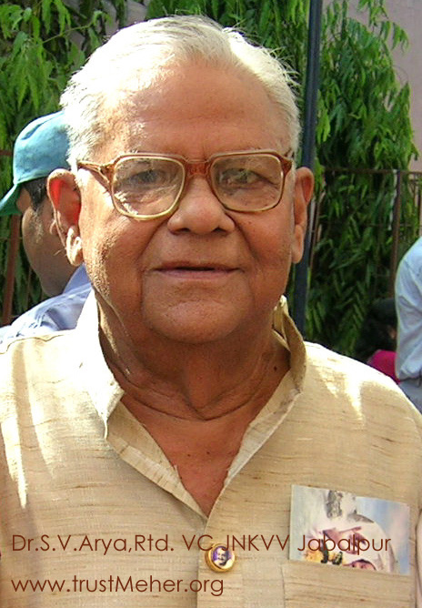 Dr Surendra Arya, VC JNKVV Jabalpur